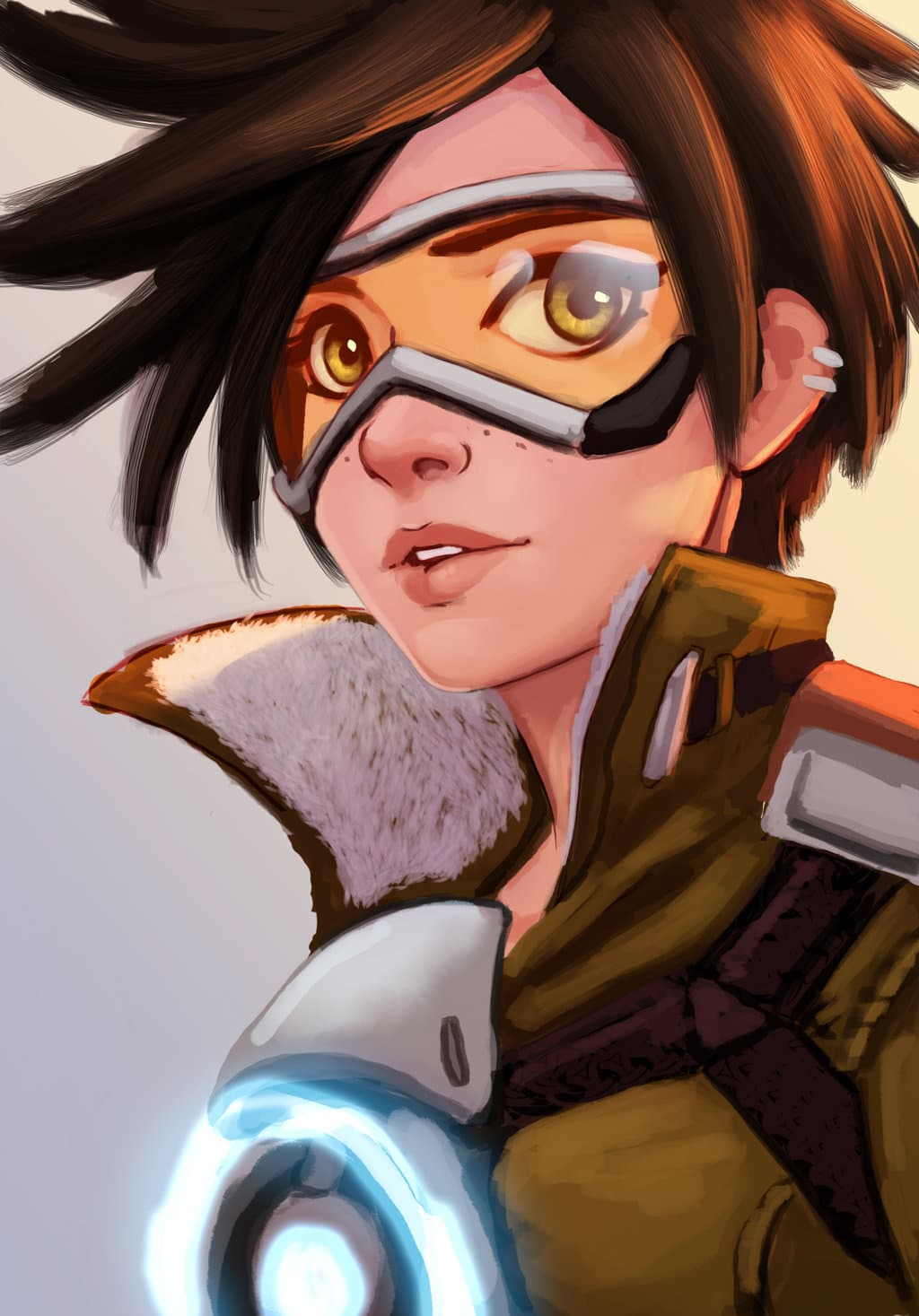 Overwatch mobile clipart clip art Overwatch Tracer Wallpaper For Mobile Phones clip art