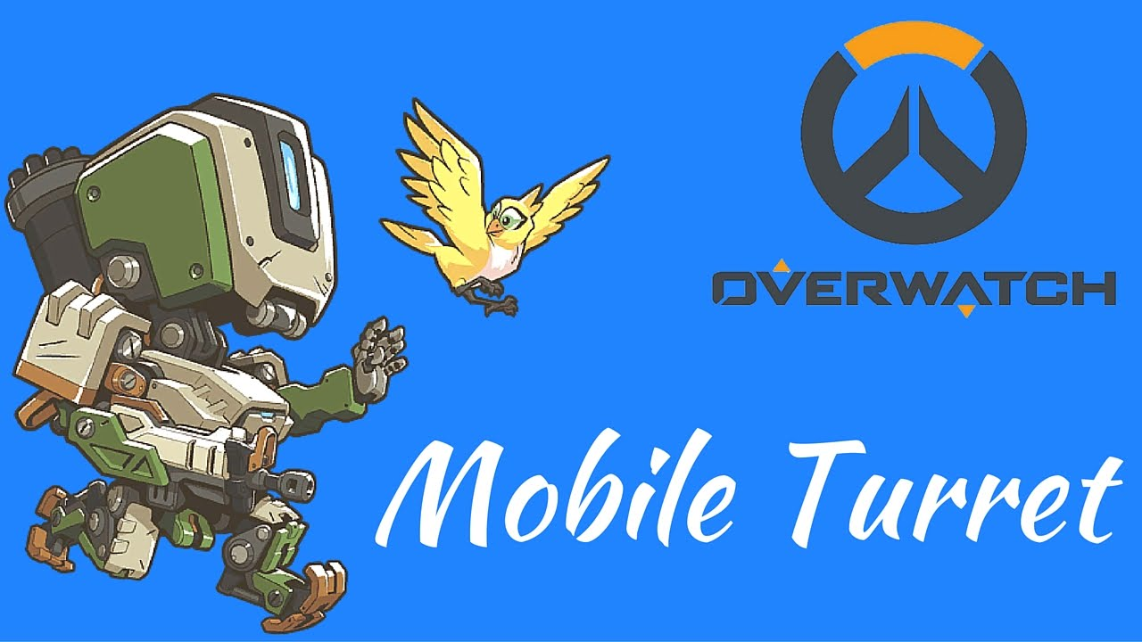 Overwatch mobile clipart jpg library library Overwatch - Mobile Turret - YouTube jpg library library