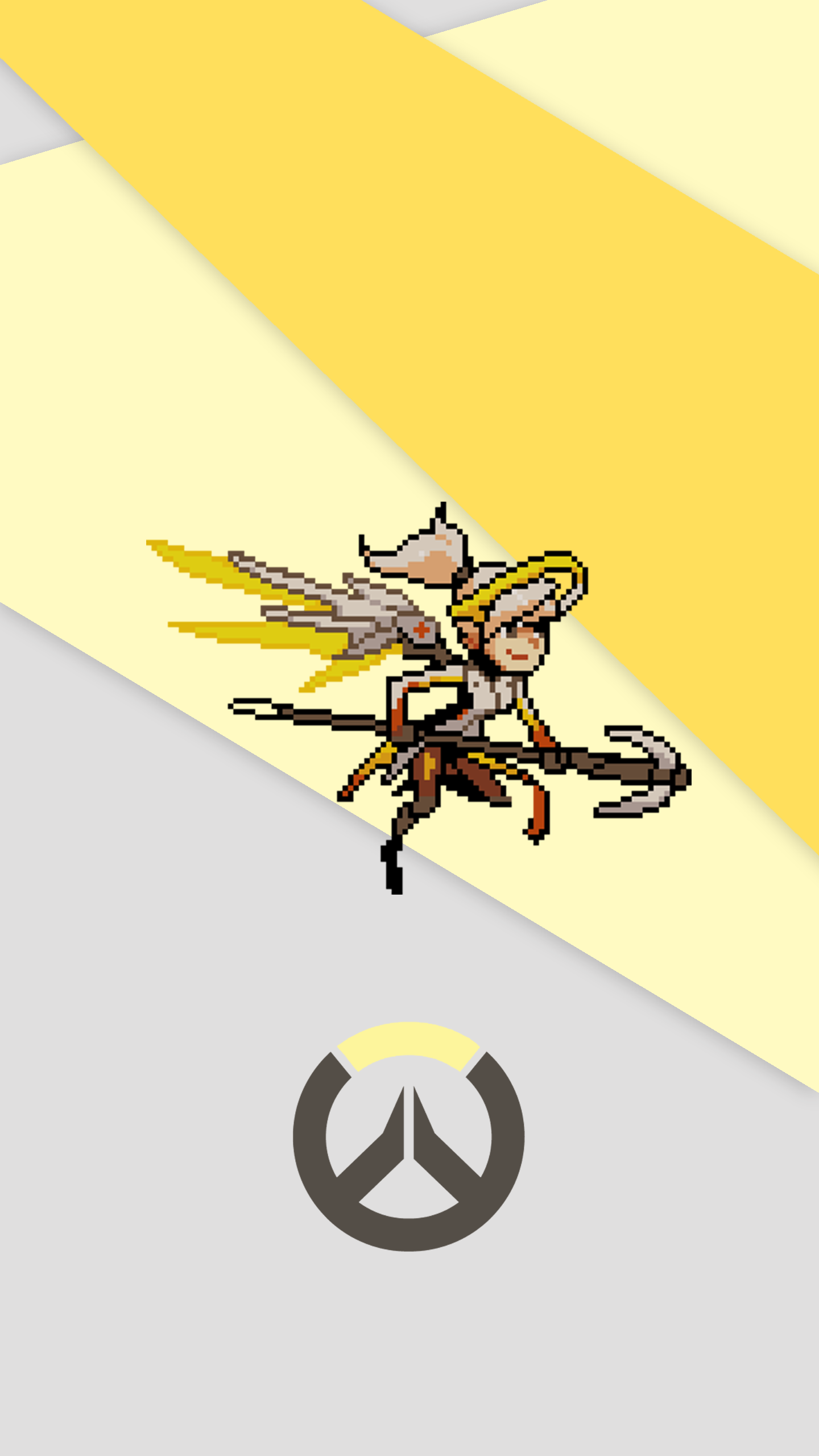 Overwatch mobile clipart clipart transparent download I made a material themed phone wallpaper for every hero, using the ... clipart transparent download
