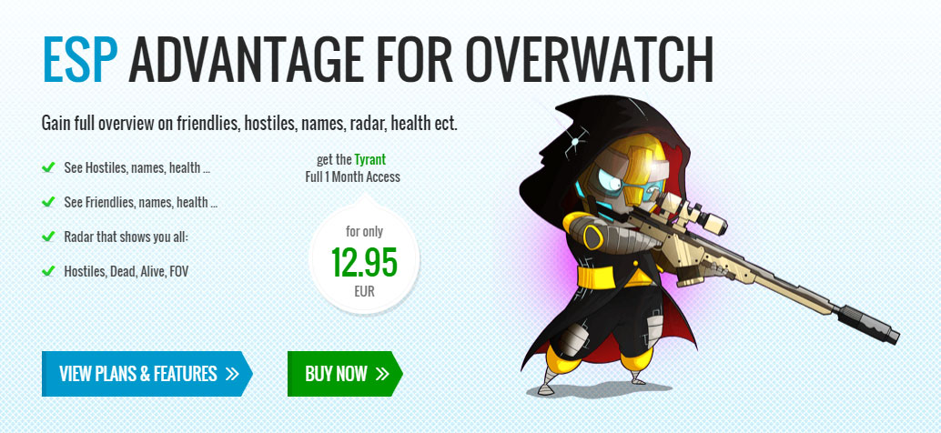Overwatch player clipart names picture black and white download Blizzard Taking Overwatch Cheat Maker To Court | Kotaku Australia picture black and white download