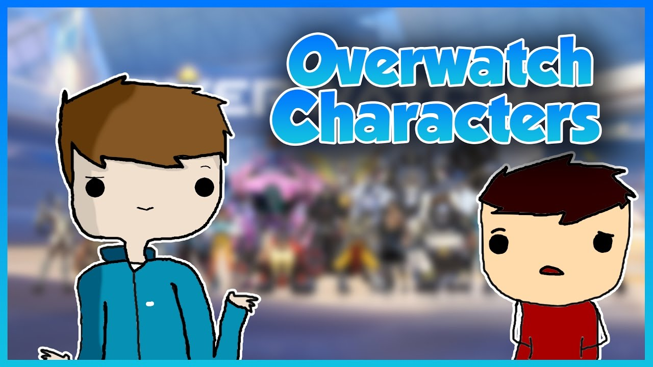 Overwatch player clipart names black and white stock 4 Year Old Guesses Overwatch Character Names - YouTube black and white stock