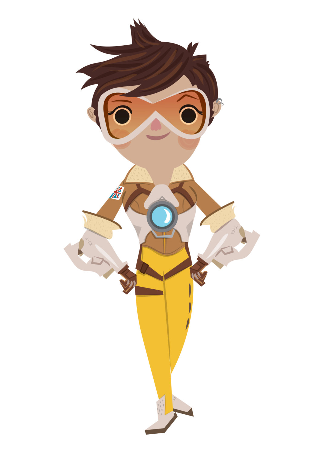 Overwatch tracer clipart picture transparent stock Overwatch cute | Etsy picture transparent stock