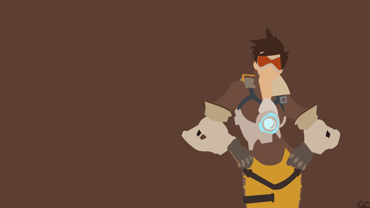 Overwatch tracer clipart clipart royalty free library Minimalist] Tracer by Garnet638 on DeviantArt clipart royalty free library