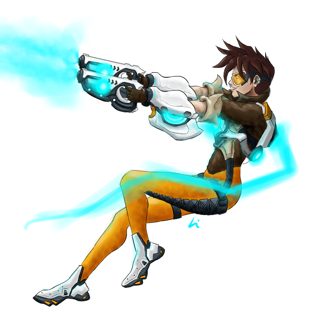 Overwatch tracer clipart jpg free download Overwatch: Tracer by NvmenInest on DeviantArt jpg free download