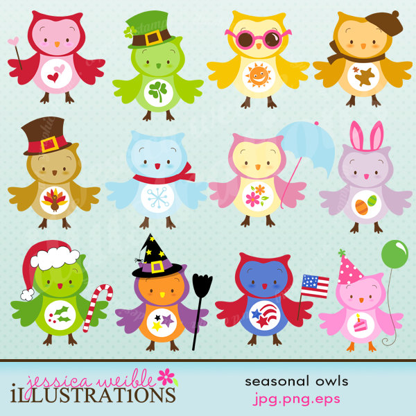 Owl april clipart clipart black and white download 17 Best images about owls on Pinterest | Pink blue, Valentines and ... clipart black and white download