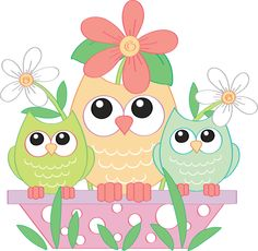 Owl april clipart clip stock Girly Navy Pink Owls Digital Clipart - Preppy - Clip Art ... clip stock