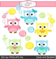 Owl april clipart svg free download Cute Owls 1 - NE Kristi W. Designs Clip Art | Clipart, Borders and ... svg free download