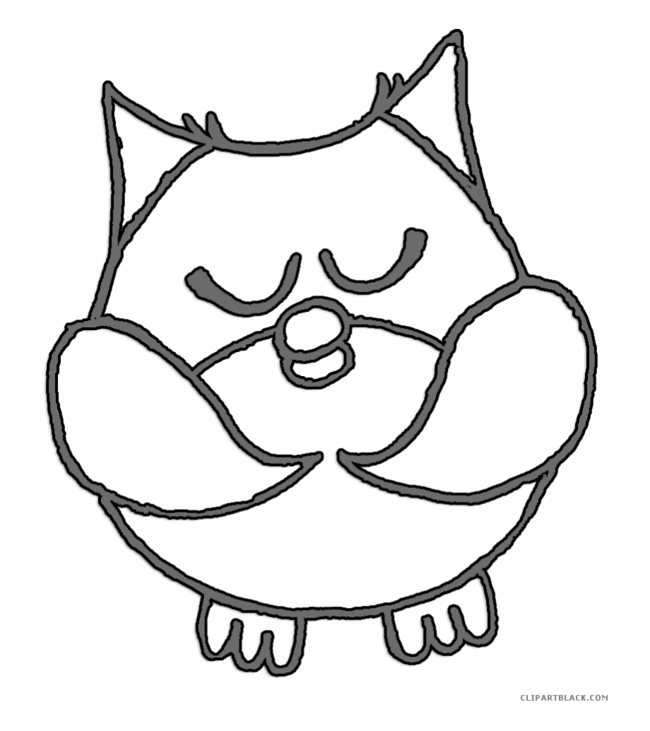 Owl at night black and white clipart jpg transparent download Snowy Owl Clipart Night Owl - Owl Free PNG Images & Clipart ... jpg transparent download
