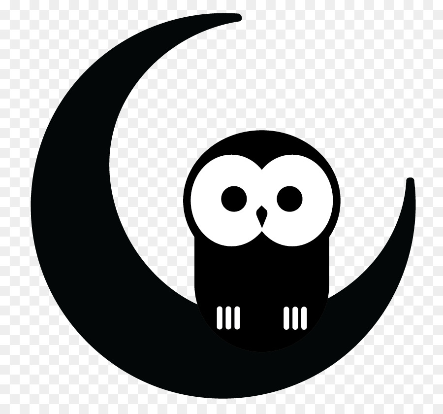 Owl at night black and white clipart clip transparent Download night owl clip art clipart Owl Clip art | clipart ... clip transparent