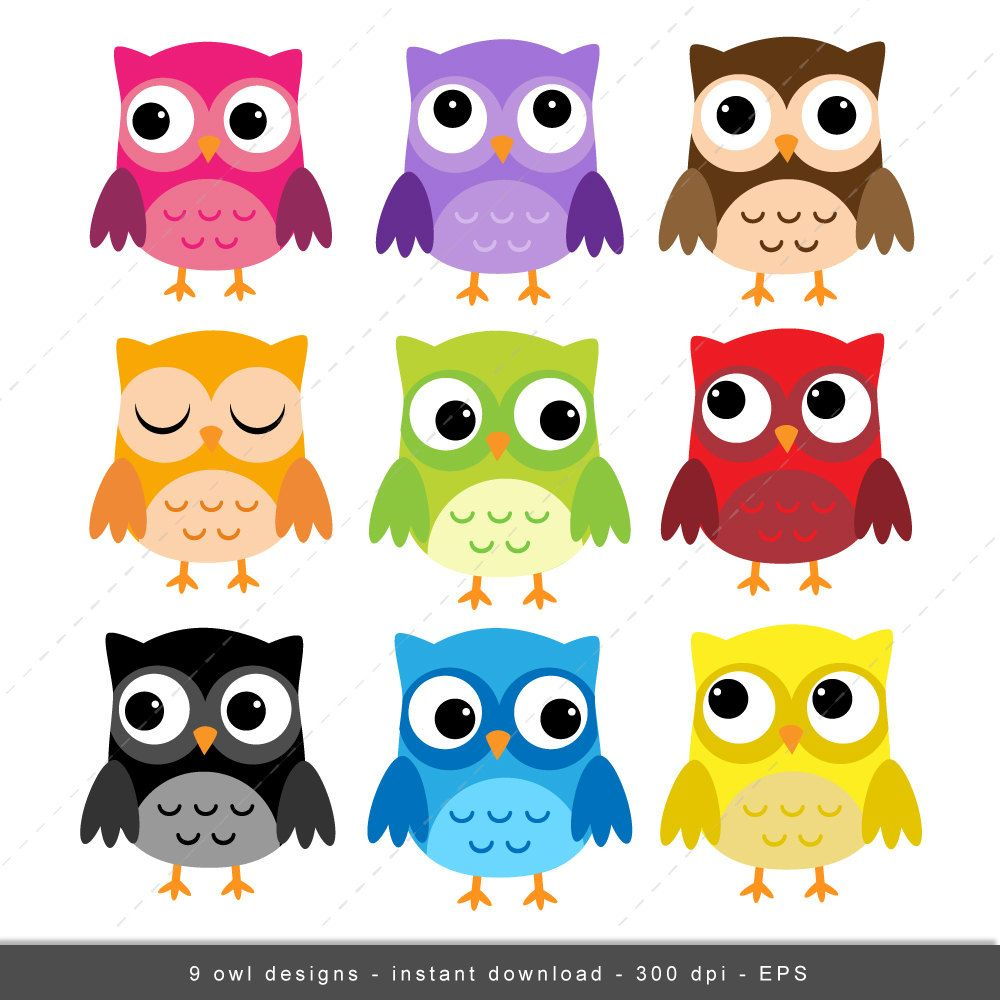 Owl background clipart clip royalty free Owl Clip art, Owls Digital Owl clipart, Scrapbook Supplies ... clip royalty free