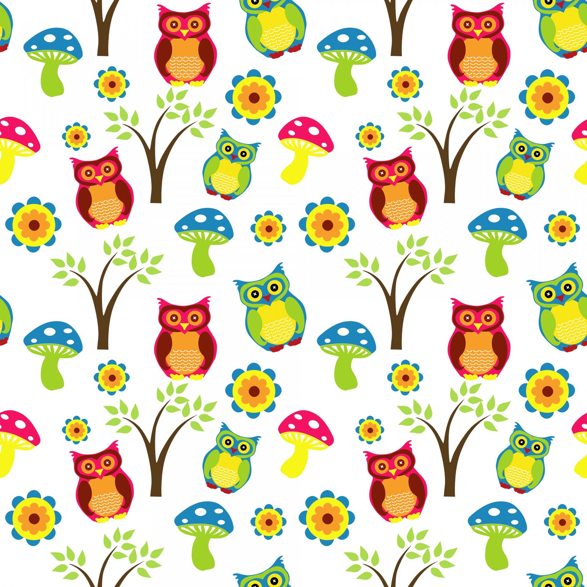 Owl background clipart freeuse library 71+ Cute Owl Wallpapers on WallpaperPlay freeuse library