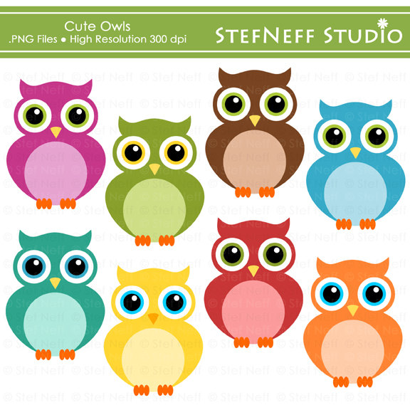 Owl clipart clipart jpg freeuse Cute Owl Clip Art & Cute Owl Clip Art Clip Art Images - ClipartALL.com jpg freeuse
