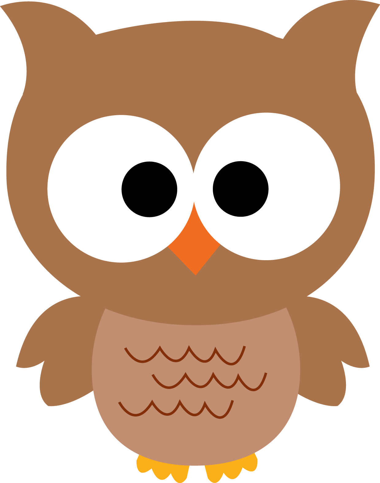 Owl turkey clipart png library Cute Fall Owl Clipart - Clipart Kid png library