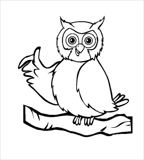 Owl clipart free black and white picture royalty free library White Owl Drawing   Free download best White Owl Drawing on ... picture royalty free library