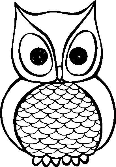 Owl clipart free black and white picture transparent Free owl clipart black and white 4 » Clipart Portal picture transparent