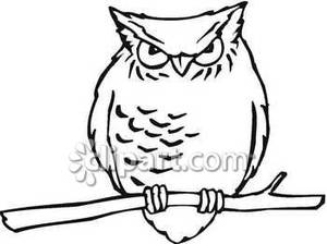 Owl clipart free black and white clip freeuse Owl Clipart Black And White   Clipart Panda - Free Clipart ... clip freeuse