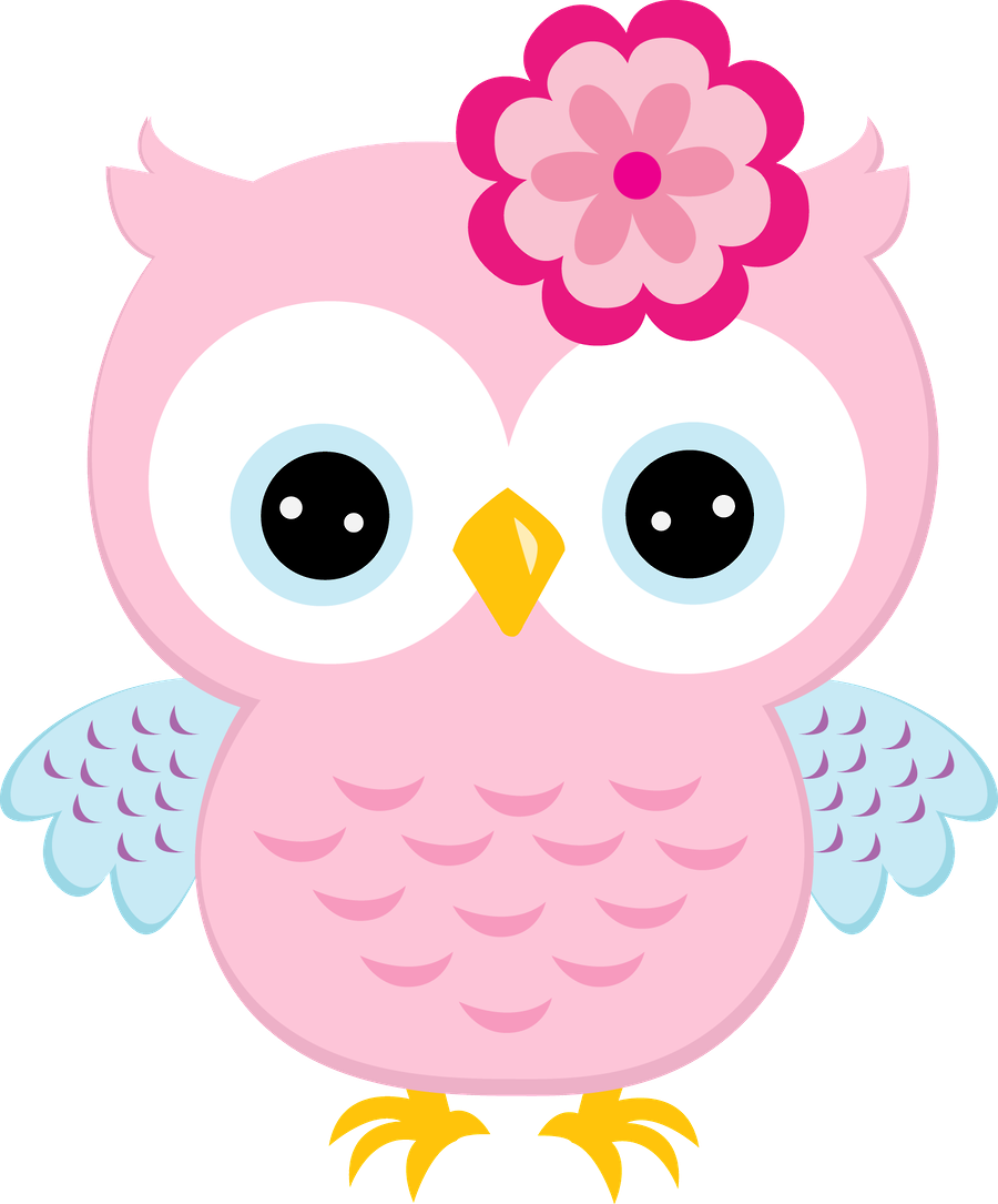 Owl clipart graphic picture free library Chica rosa púrpura buhos Digital Clipart - Imágenes Prediseñadas ... picture free library