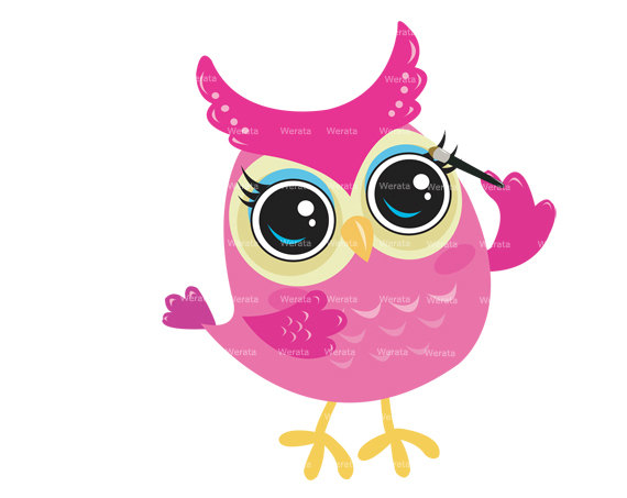 Owl clipart graphic jpg freeuse Girl Owl Clipart - Clipart Kid jpg freeuse