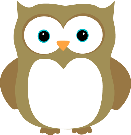 Owl clipart graphic