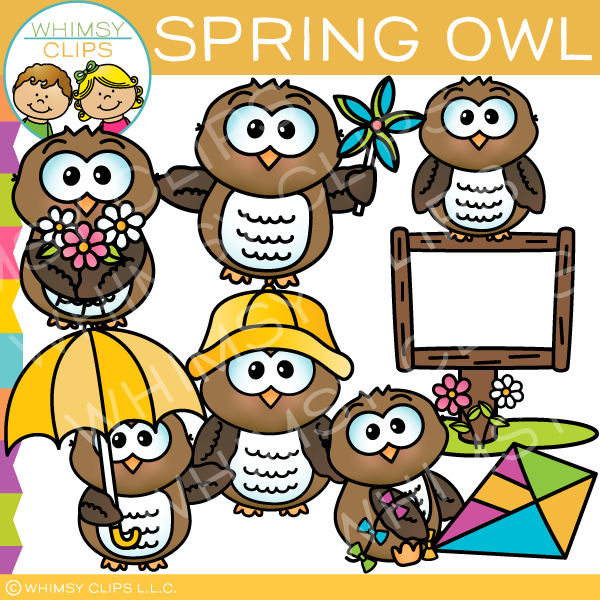 Owl clipart whimsy clips clip art royalty free download Cute owl clip art , Images & Illustrations   Whimsy Clips ® clip art royalty free download