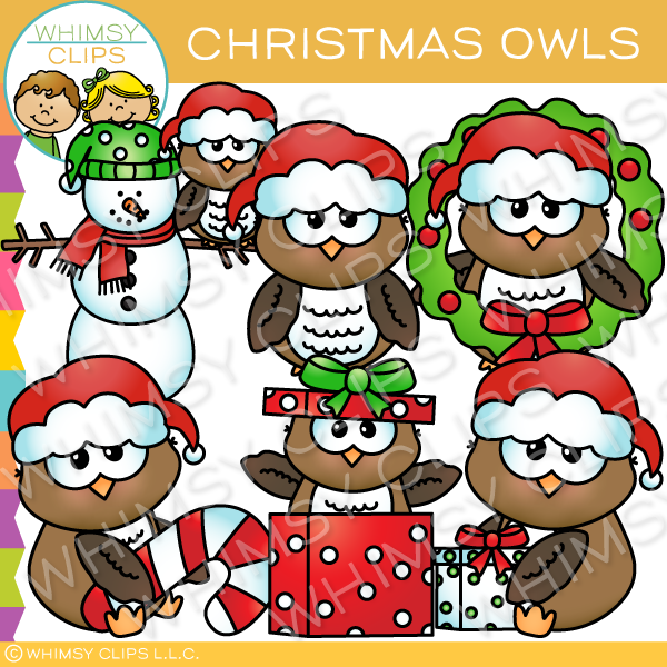 Owl clipart whimsy clips png free Cute owl clip art , Images & Illustrations   Whimsy Clips ® png free