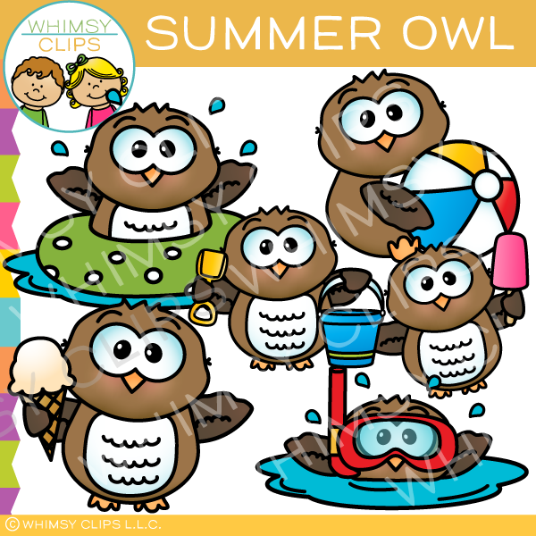 Owl clipart whimsy clips png royalty free stock Cute owl clip art , Images & Illustrations   Whimsy Clips ® png royalty free stock
