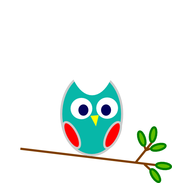 Owl heart clipart svg royalty free download Blue And Red Owl Clip Art at Clker.com - vector clip art online ... svg royalty free download