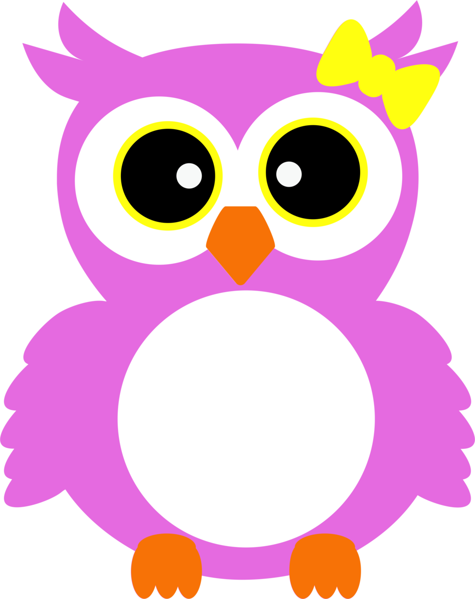 Owl monogram clipart picture library download Owl- Monogram with Bow picture library download