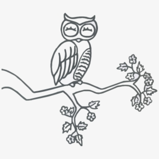 Owl on branch clipart black and white jpg free stock Clipart Library Download Owl On A Branch Clipart Black - Owl ... jpg free stock