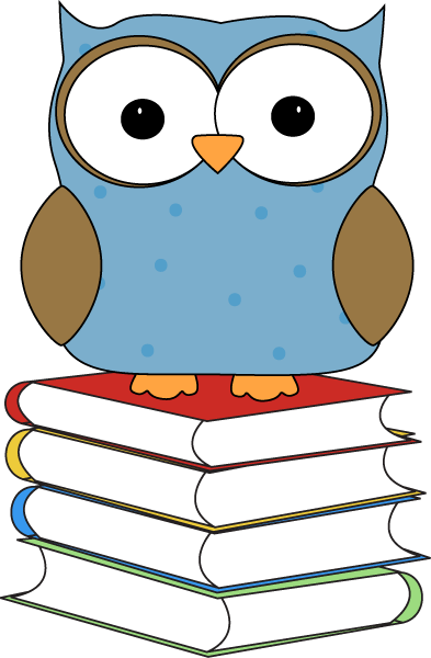 Owl with books clipart jpg library Owl with books clipart - ClipartFest jpg library