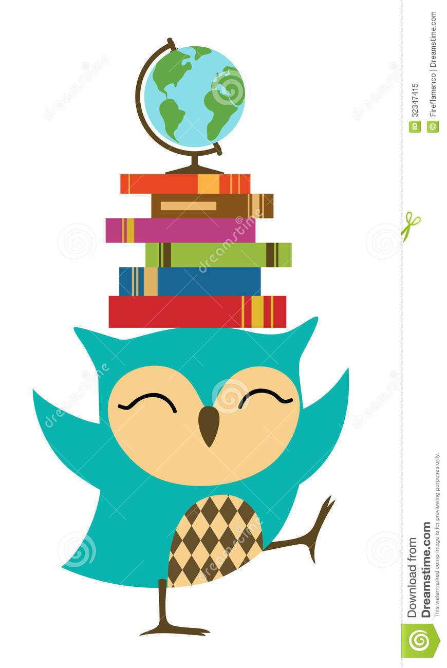 Owl with books clipart clip royalty free stock Owl with books clipart - ClipartFest clip royalty free stock