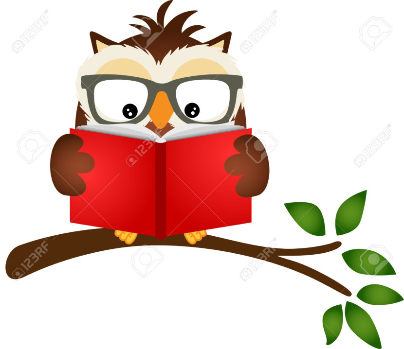 Owl with books clipart png free stock Owl books clipart images - ClipartFest png free stock