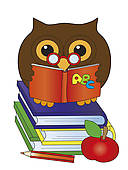 Owl with books clipart jpg free download Owl Book Clipart | Clipart Panda - Free Clipart Images jpg free download