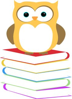 Owl with books clipart clipart freeuse Owl with books clipart - ClipartFest clipart freeuse