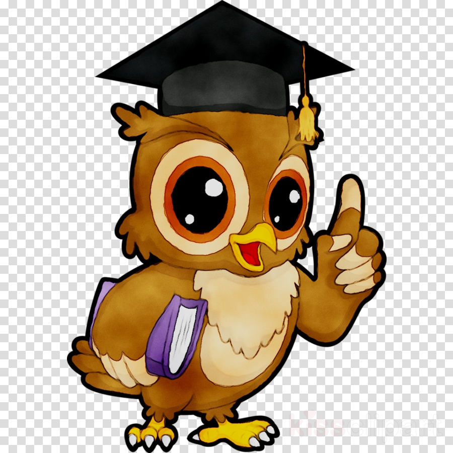 Owl with graduation cap clipart svg freeuse download Graduation Cap clipart - Owl, Illustration, Cartoon ... svg freeuse download