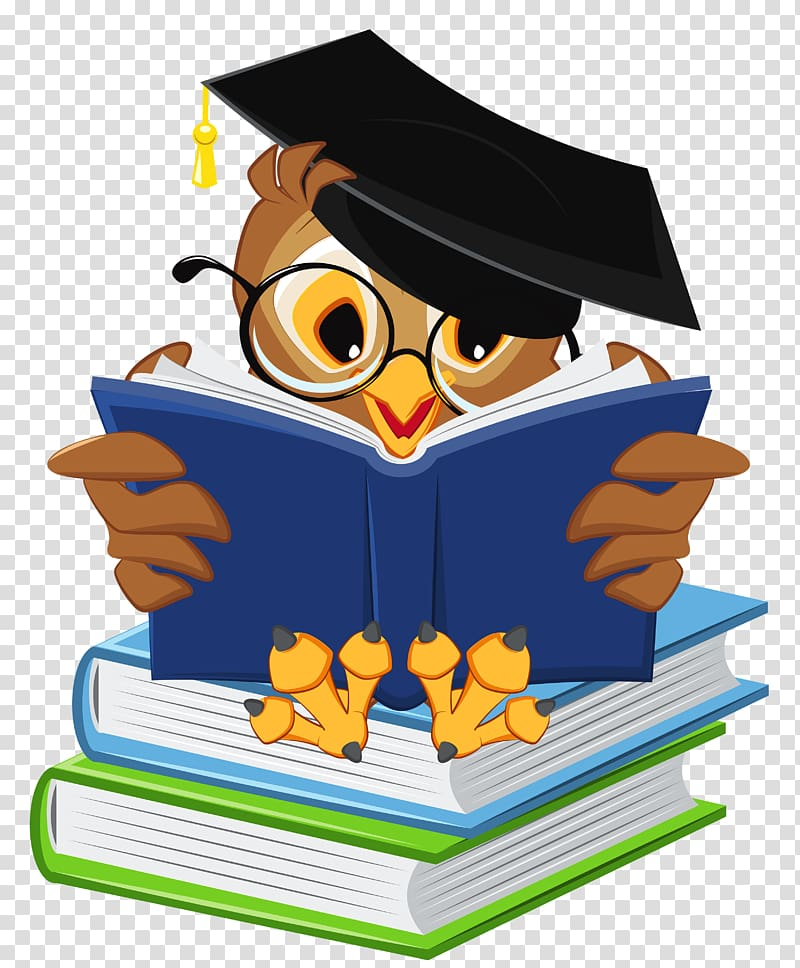 Owl with graduation cap clipart clip art freeuse download Graduation ceremony Owl Square academic cap Icon, Owl with ... clip art freeuse download