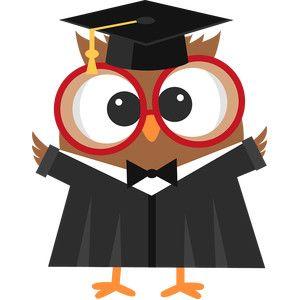Owl with graduation cap clipart banner free stock Silhouette Design Store: graduation owl | WGU | Graduation ... banner free stock