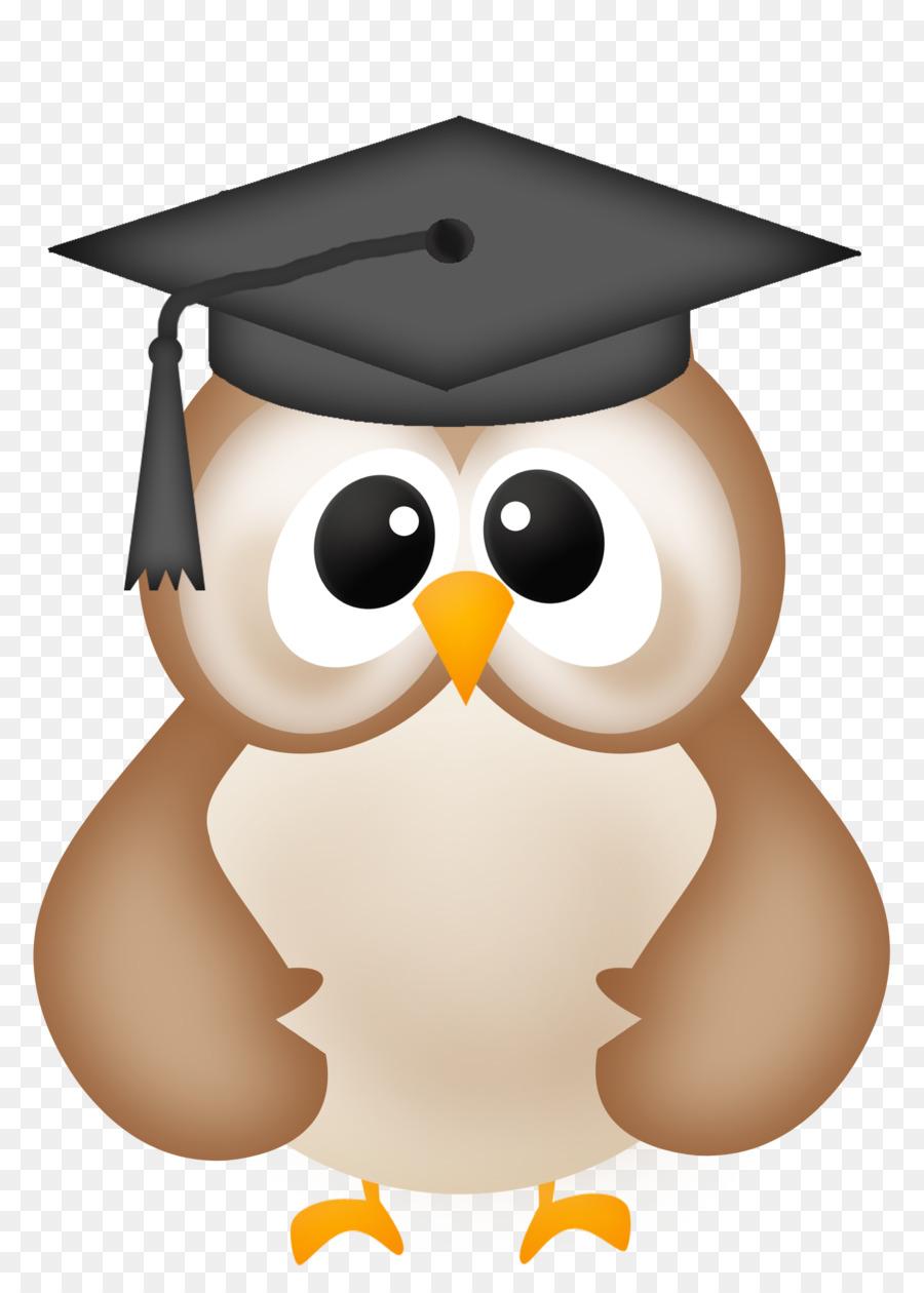 Owl with graduation cap clipart picture freeuse library Graduation Cap clipart - Owl, Cap, Bird, transparent clip art picture freeuse library