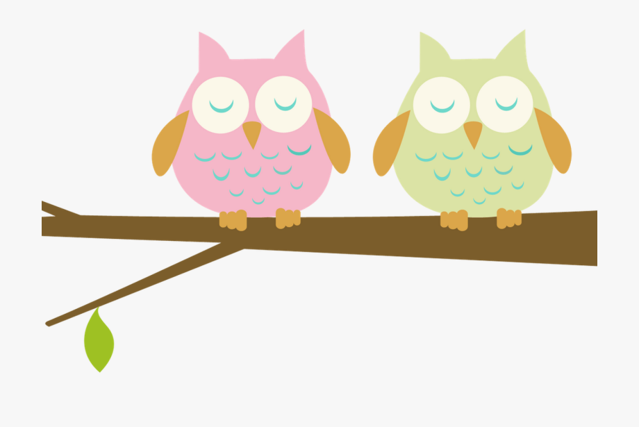 Owls on a branch clipart clip free Images Of Green Owls Getting Married Clip Art - Owls On ... clip free