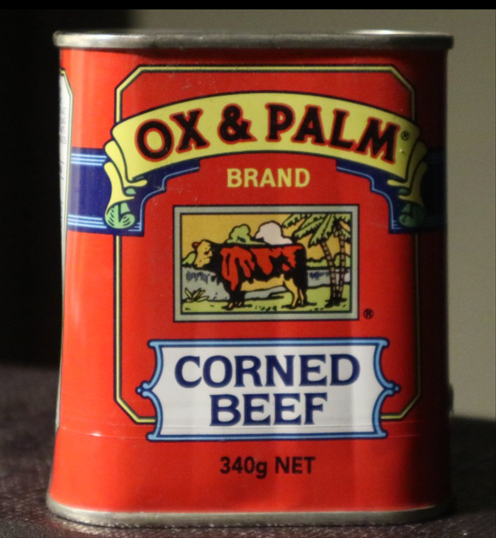 Ox and palm corned beef clipart png free library CUCI GUDANG CORNED BEEF OX PALM 340g net daging sapi instan food png free library