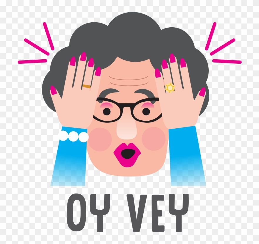 Oye clipart graphic transparent download Oy Vey Clipart 2 By Angela - Oy Vey Emoji - Png Download ... graphic transparent download