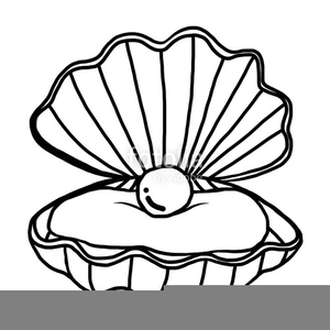 Oystdr clipart clip art black and white library Oyster Clipart Free | Free Images at Clker.com - vector clip ... clip art black and white library