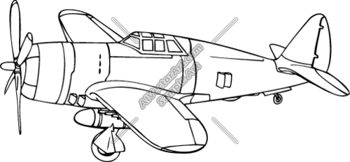 P-47 clipart banner freeuse stock P47 Thunderbolt Airplane Clipart and Vectorart: Vehicles ... banner freeuse stock