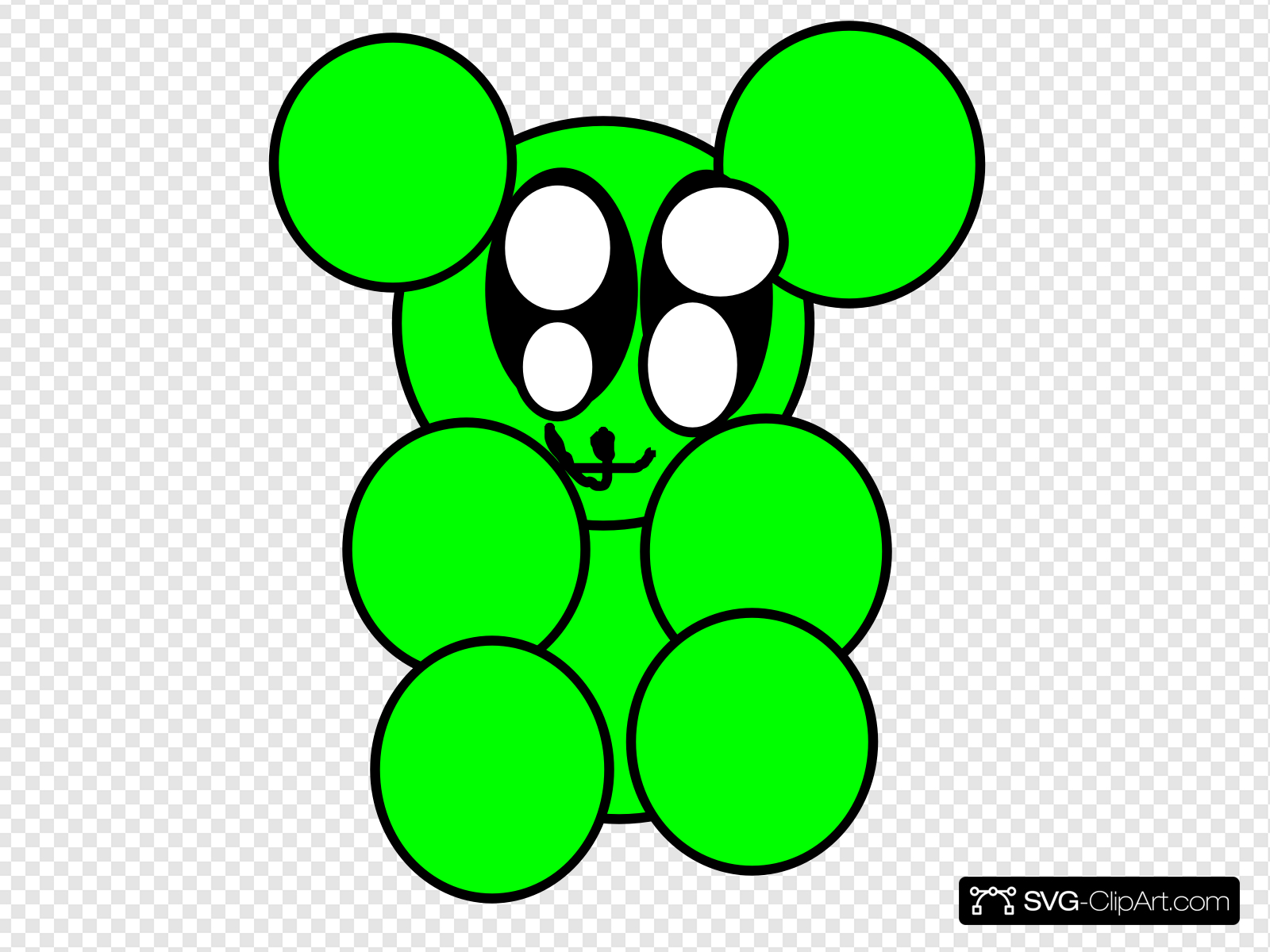 Pa clipart freeuse library Gummy Bear Green Pa Clip art, Icon and SVG - SVG Clipart freeuse library