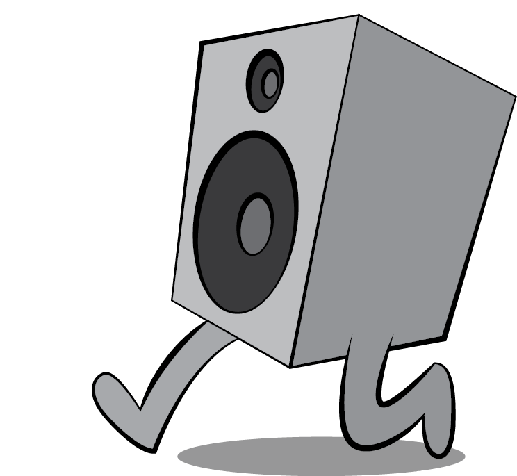 Pa system clipart svg transparent library Sound On The Run - Professional Sound System Design ... svg transparent library
