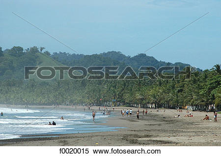 Pacific coast clipart clip royalty free library Stock Image of Costa Rica, Pacific coast landscape f0020015 ... clip royalty free library