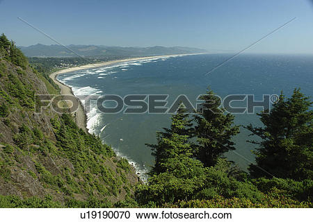 Pacific coast clipart png black and white download Stock Photography of Manzanita, OR, Oregon, Pacific Ocean, Pacific ... png black and white download