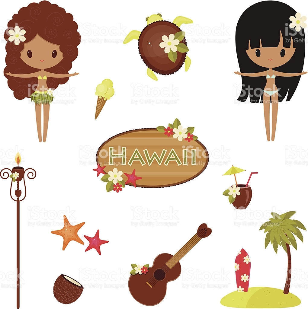 Pacific island clipart clipart royalty free stock Hawaii Vector Symbols And Icons stock vector art 478739761   iStock clipart royalty free stock