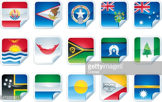 Pacific island clipart png library library Pacific Island Flags Vector Art   Getty Images png library library