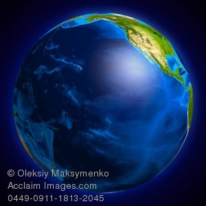 Pacific ocean clipart png royalty free library Acclaim Images - earth globe pacific ocean photos, stock photos ... png royalty free library